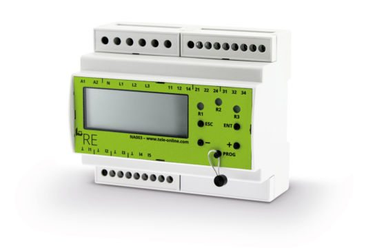 grid and system protection Tele RE NA003